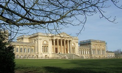 Neoclassical grandeur; Stowe House 1770-79 by Robert Adam modified in execution by Thomas Pitt