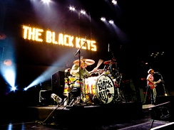 The Black Keys performing at Madison Square Garden in March 2012