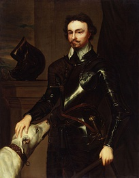Thomas Wentworth, 1st Earl of Strafford, and organiser of the King's forces for the Second War