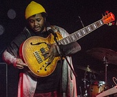 Bass player Thundercat (left) and singer Bilal are among the musicians who contributed to the album.