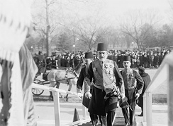 Yusuf Ziya Pasha, Ottoman ambassador to the United States, in Washington, 1913