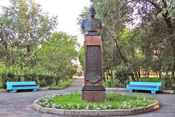 Бронзовый бюст Кретова Степана Ивановича