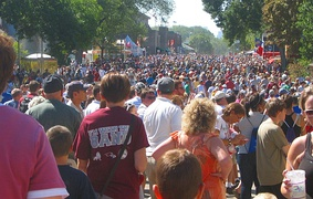 August 2010 crowd
