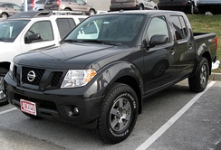 2011 Nissan Frontier Pro-4X (US)