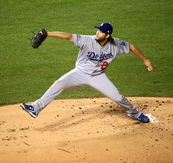 Clayton Kershaw got the win in Game 2, allowing just two hits in eight innings.