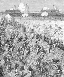 The attack on the Thuận An forts, 20 August 1883