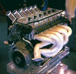 BMW M88 engine, used in the BMW M1