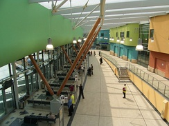 The interior of the redeveloped Barnsley Interchange