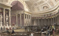 Chamber of Peers in the Palais du Luxembourg (1841)