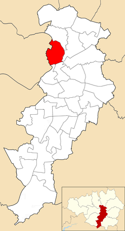 Cheetham electoral ward within Manchester City Council.