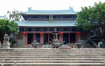 The Buddhist Yuhua Temple in Ronggui, Shunde.