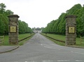 The main entrance to Coombe Abbey and the park