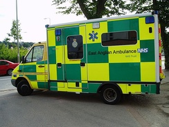 EEAST was formed by the merger of 3 ambulance services - including the East Anglian Ambulance NHS Trust