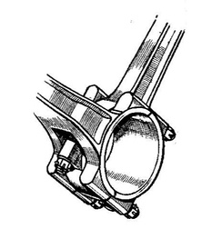 """Fork & blade"" connecting rods"