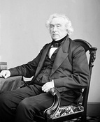 While Democratic presidential candidate Martin Van Buren won a majority of the Electoral College, Virginia's electors refused to vote for his running mate Richard Mentor Johnson (left), forcing a contingent election in the Senate against Whig candidate Francis Granger (right).