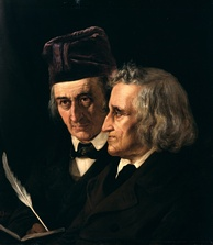 The Brothers Grimm collected and published popular German folk tales.