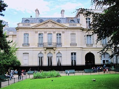 The reconstructed Hôtel Thiers on Place Saint-George in Paris