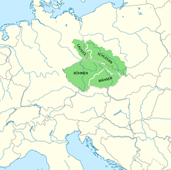 Lands of the Bohemian Crown since the reign of Holy Roman Emperor Charles IV