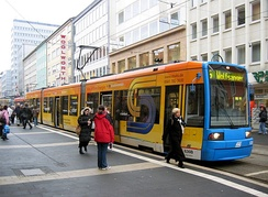 Trams in Kassel