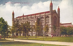 The law school, depicted in a postcard from the 1910s