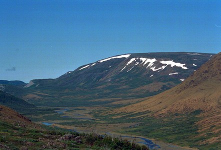 The Cabox is the highest summit of Newfoundland.