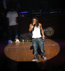 Lil Wayne At Beacon Theatre in 2007