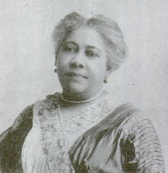 Mary Burnett Talbert served as National Director of the NAACP Anti-Lynching Campaign in 1921