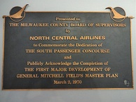 Plaque in Concourse E