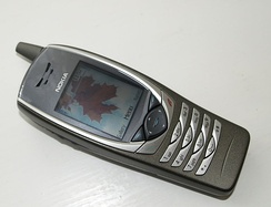 The Nokia 6650, an early (2003) UMTS handset