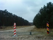 Oder-Neisse line at Usedom