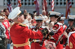 The United States Marine Band on Memorial Day