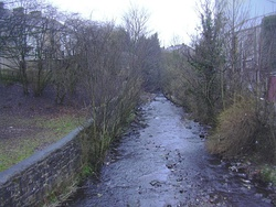 River Hyndburn at Church Bridge - geograph.org.uk - 1181759.jpg