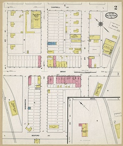 Sandborn Fire Insurance Map from Altavista, Campbell County, Virginia
