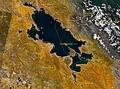 Спутниковый снимок озера 1991 года