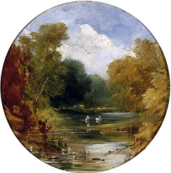 The Plantation at Acomb, in 1842 by William Etty