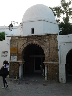 The mosque in which Ibn Khaldun studied