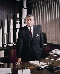 Wernher von Braun (1912–1977), technical director of Nazi Germany's missile program, became the United States' lead rocket engineer during the 1950s and 1960s