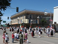 Basque parade in Winnemucca, Nevada