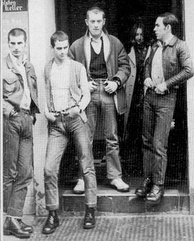 Slade in their skinhead phase in 1969from left: Powell, Lea, Holder, Hill.