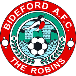 The Bideford A.F.C. crest.
