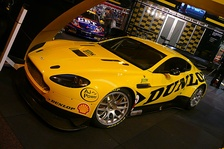JMW Motorsport Aston Martin Vantage GT2 at Autosport International in 2010.