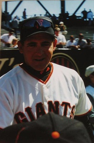 Giants pitching coach Dave Righetti, a San Francisco native, while a player threw a no-hitter for the Yankees and went on to become their all-time saves leader until Mariano Rivera surpassed him