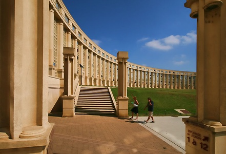 Antigone, Montpellier, France, by Ricardo Bofill, completed 1992