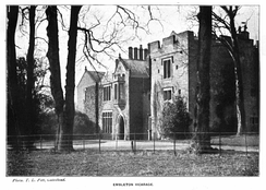 Embleton Tower (formerly Embleton Vicarage), late 19th century