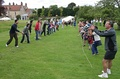 Egg-throwing at summer fete