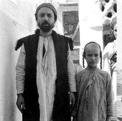 Traditional Jewish attire in Yemen