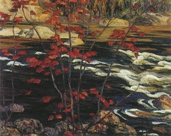 Red Maple by A.Y. Jackson from 1914
