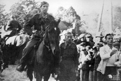 Polish Home Army's 26th Infantry Regiment en route from the Kielce–Radom area to Warsaw in an attempt to join the Warsaw Uprising