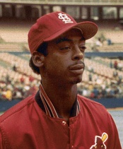 Game Three home run and defensive hero, Willie McGee.