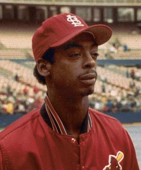 Final out victim Willie McGee.